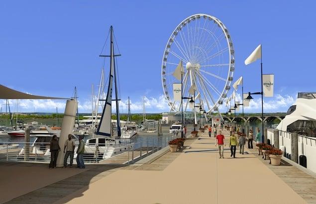 National Harbor Announces Plans for a Giant Ferris Wheel