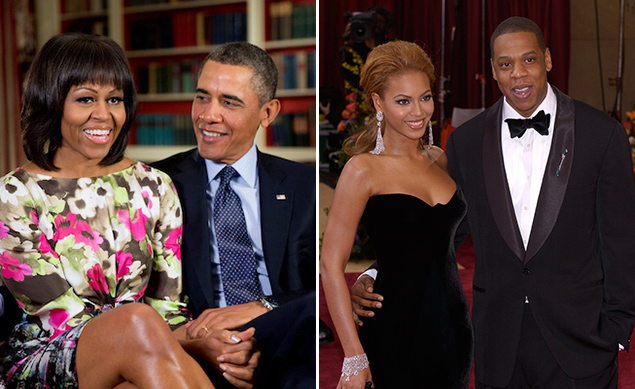 The Obamas and the Knowles-Carters: Friends With Benefits
