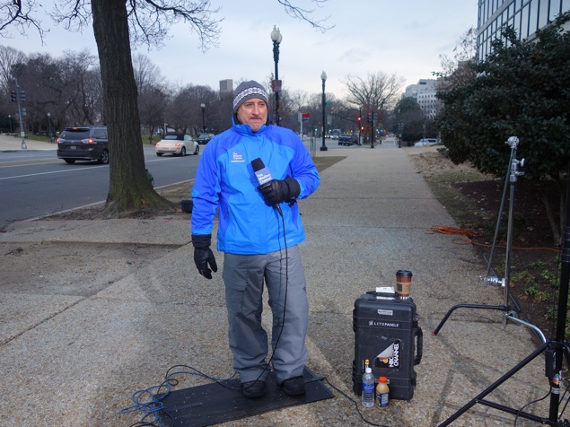 Waiting for Snow With the Weather Channel's Jim Cantore (Photos)