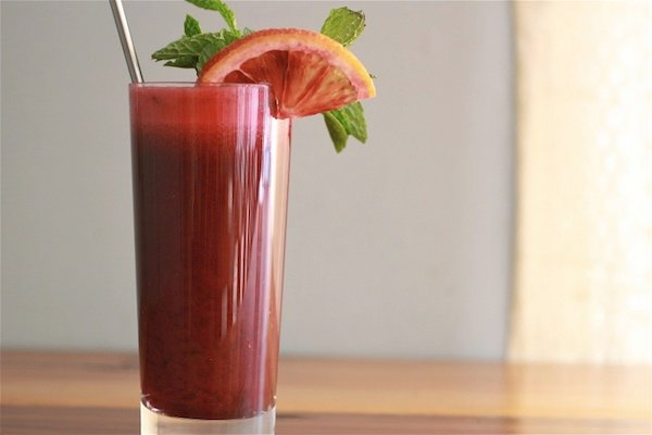 Blood Orange Beet Juice