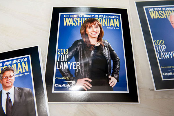 Washingtonian Top Lawyers Reception (Photos)