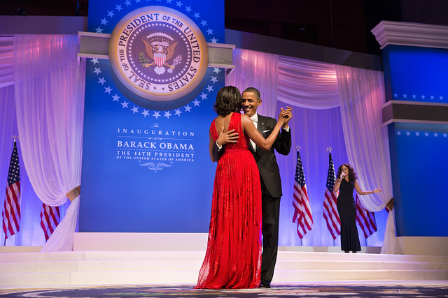 Starting Tuesday, See Michelle Obama's 2nd Inauguration Dress at the American History Museum