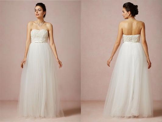Weddings Dresses On A Budget 30 Beautiful A chiffon and silver