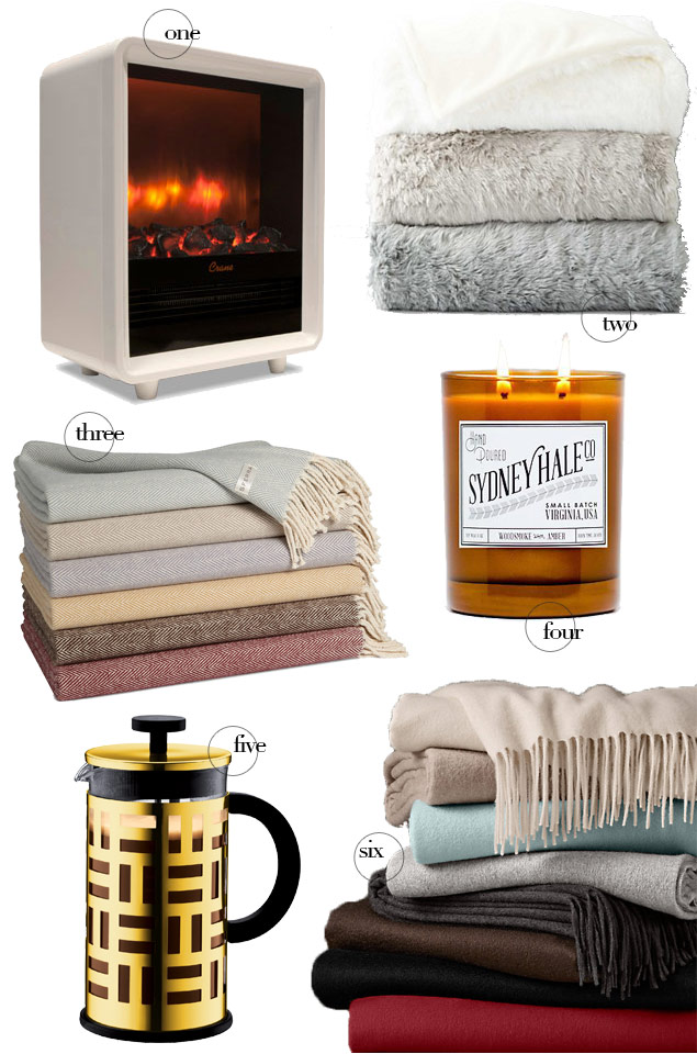 Cozy Home Must-Haves for Super-Cold Days