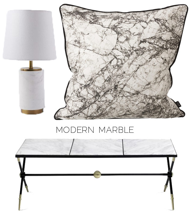 Trending: Marble Furniture and Decor (Photos)