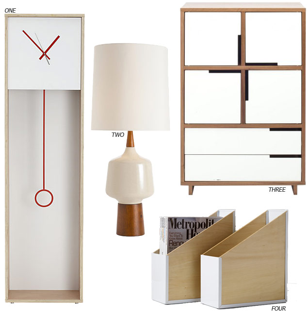 Trending: White and Wood Furniture