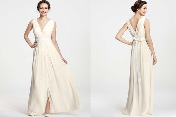 Anne Taylor Wedding Dresses 5 Fresh A plunging V neck
