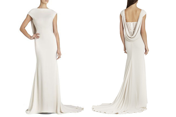 Wedding Dresses By Body Shape 68 Nice The plunging cowl back