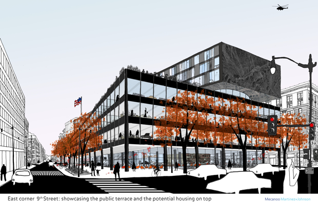 MLK Library Will Be Redesigned by Mecanoo and Martinez + Johnson
