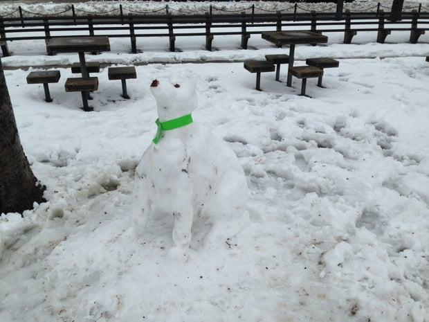 Snow Turns Dupont Circle Into Sculpture Garden (Photos)