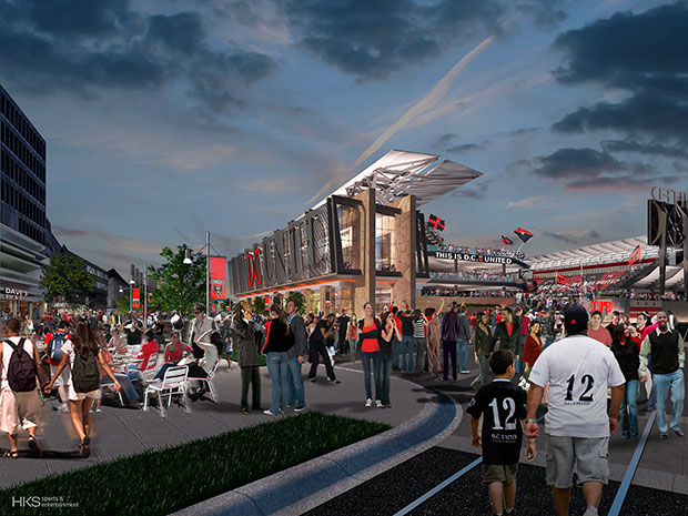 Sports Architecture Firm Populous Will Design DC United Stadium, Officials Say