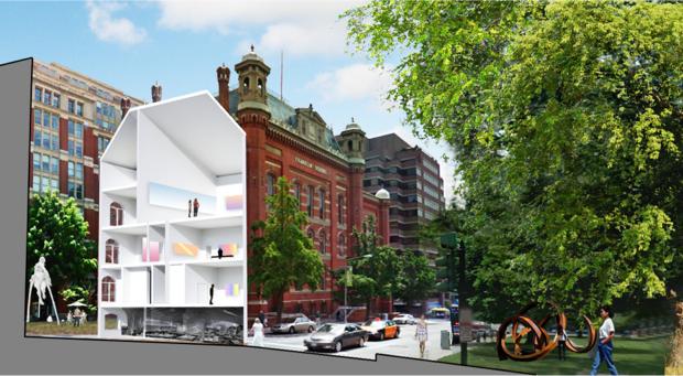 Franklin School Will Become a Modern Art Museum
