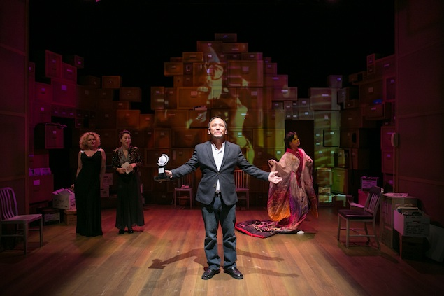 """Theater Review: """"Yellow Face"""" at Theater J"""