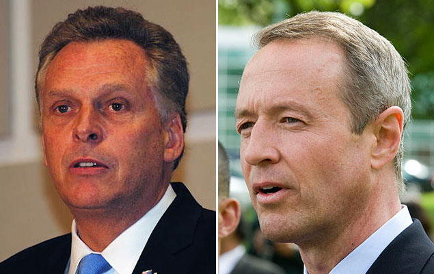 Spotted: Terry McAuliffe and Martin O'Malley Out Together