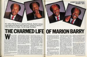From the Archives: The Charmed Life of Marion Barry
