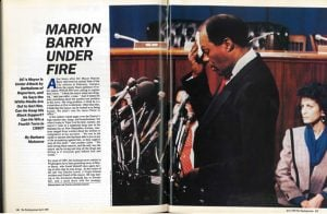 From the Archives: Marion Barry Under Fire