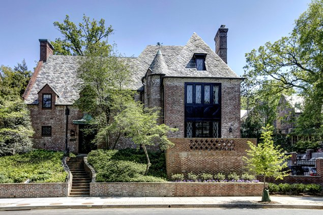 Most Expensive Homes on the Market: A 1920s Mansion in Kalorama