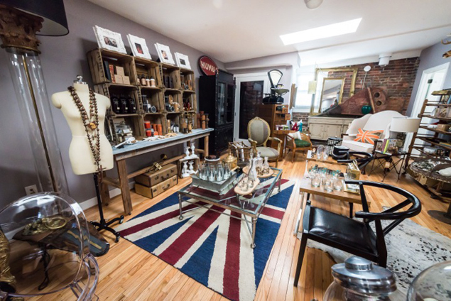 Vintage Furniture Store Foundry Reopens on H Street