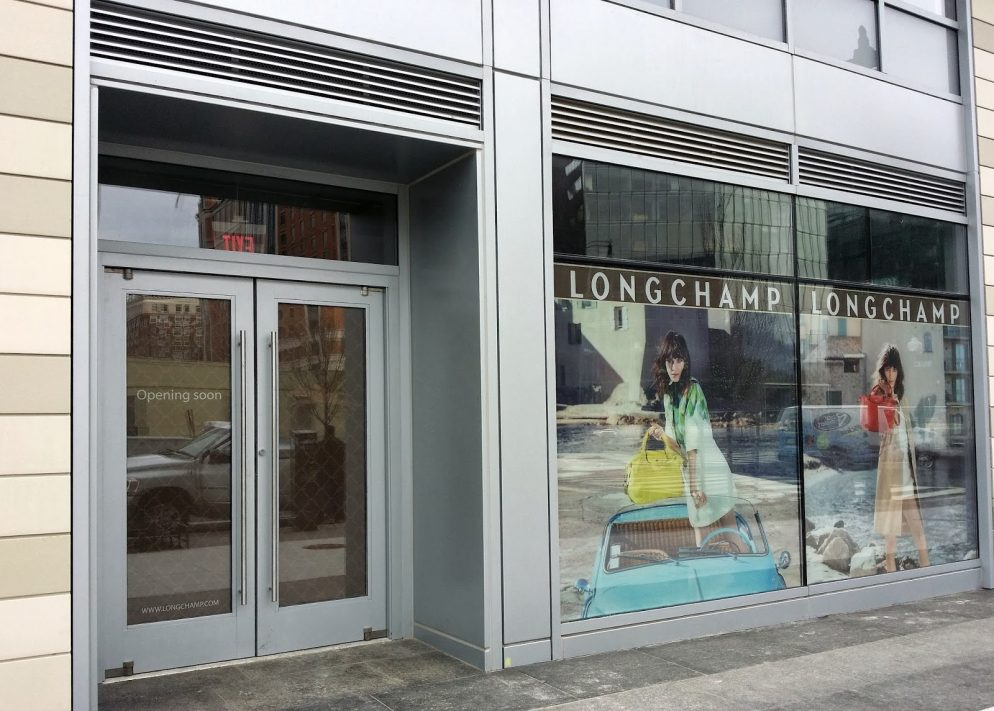 Next up to CityCenterDC: Longchamp