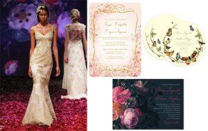 Designer Claire Pettibone Launches Bridal Stationery Line