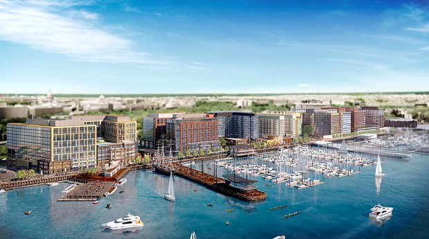 The Wharf Breaks Ground in DC's Southwest Waterfront