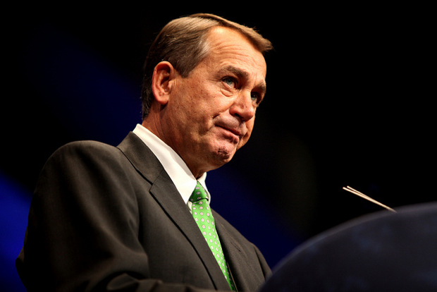 "John Boehner Says Congress Will ""Look"" at DC Marijuana Decriminalization"