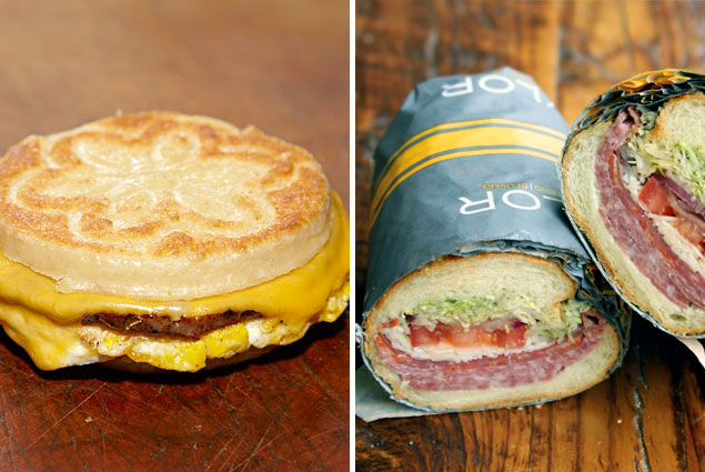 The Great Sandwich Smackdown: Taylor Gourmet vs. Red Apron Butchery