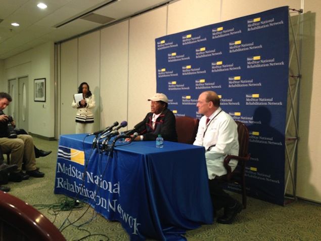 Marion Barry Out of the Hospital Once Again
