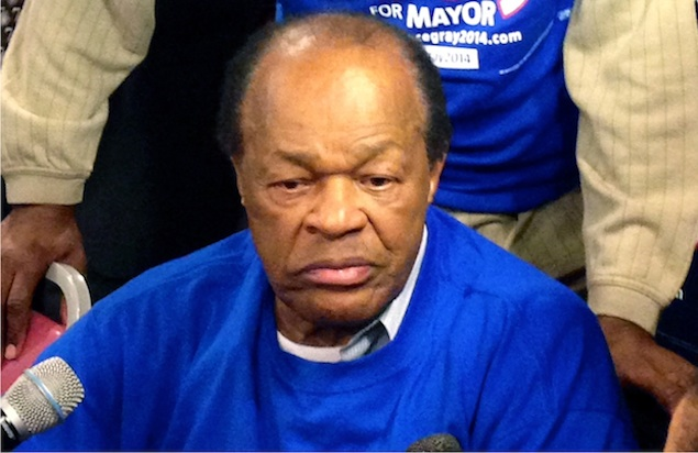 Marion Barry Endorses Vincent Gray for Mayor