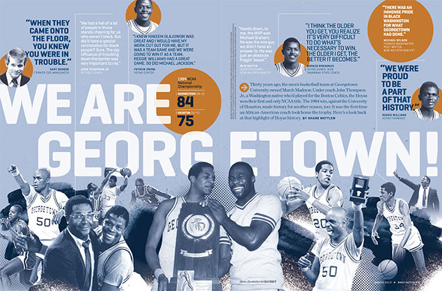We Are Georgetown: John Thompson Jr. Reflects on Coaching the Hoyas to an NCAA Title