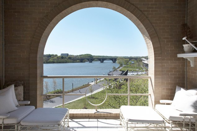 Most Expensive Homes on the Market: A  Million Penthouse on the Georgetown Waterfront