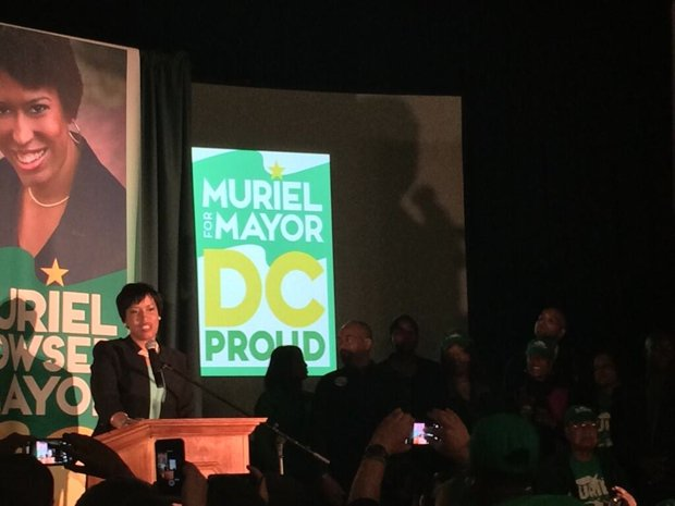 Muriel Bowser Wins DC Mayoral Primary