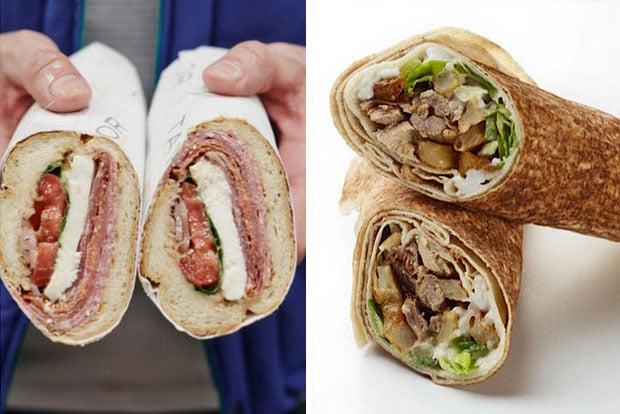 The Great Sandwich Smackdown: Shawafel vs. Taylor Gourmet