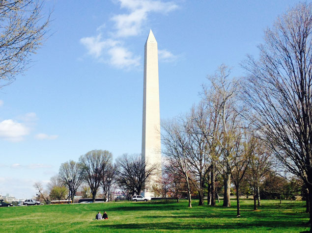 The Scaffolding Comes Off the Washington Monument As the Repair Project Nears Completion