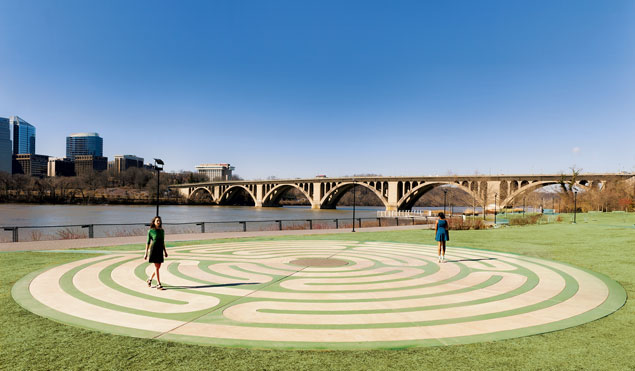 Are DC's Labyrinths a Path to Inner Peace?