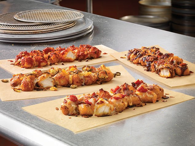 Domino's Unleashes Its Fried-Chicken-Crust Pizza