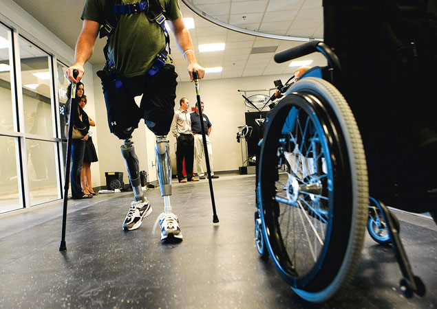 First Person: Rehabilitating Wounded Soldiers at Walter Reed