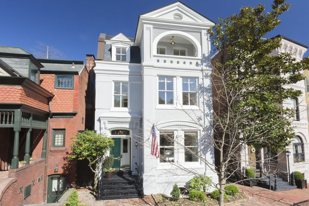 Most Expensive Homes on the Market: A Restored Townhouse in Georgetown