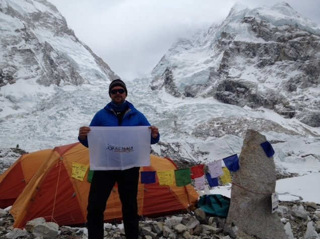 Alexandria's Mike MacNair on Experiencing the Recent Avalanche at Everest