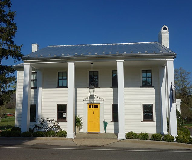 Take a Look at White Moose Inn, Little Washington's New Contemporary Bed & Breakfast (Photos)