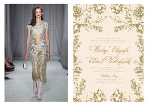 Wedding Paper Divas and Marchesa Team Up to Release New Bridal Stationery