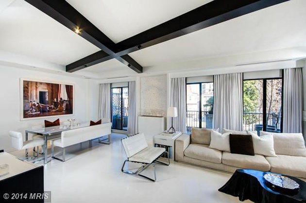 Listing We Love: A Designer's Minimalist Penthouse in Georgetown