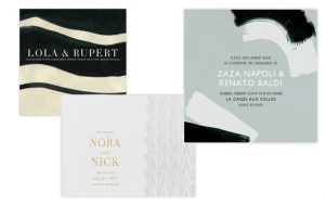 New Wedding Stationery Collaboration: Kelly Wearstler and Paperless Post