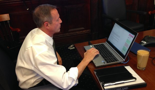 Martin O'Malley Had a Bad Time on Reddit