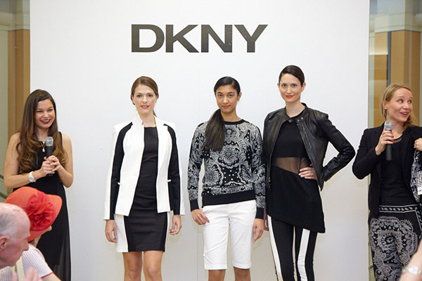 DKNY's 25th Anniversary Fashion Show at Saks Fifth Avenue