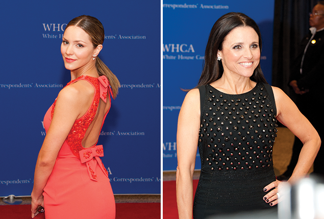 White House Correspondents Didn't Score With Fashion at Their Annual Dinner