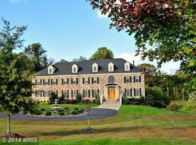 Most Expensive Homes on the Market: Chris Cooley's .39 Million Leesburg Mansion