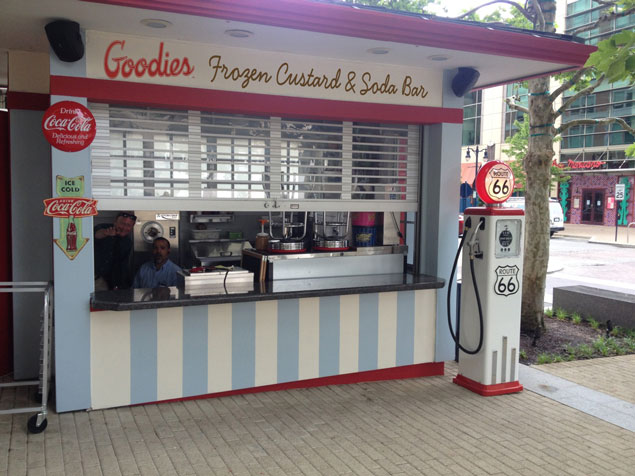 Goodies Frozen Custard Opens Saturday
