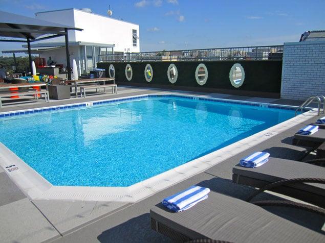 Take A Look At Dc S Newest Rooftop Pool Bar Washingtonian