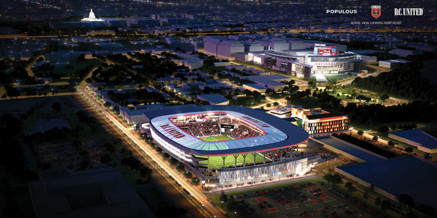 DC Council Starts Reviewing DC United Stadium Plan
